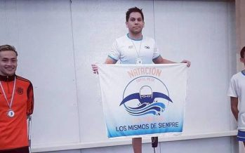 Amílcar Guerra ganó sus dos carreras en el Torneo Argentino de Natación