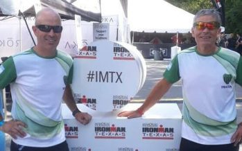 Dos triatletas del Club Independiente corrieron en el Ironman de Texas