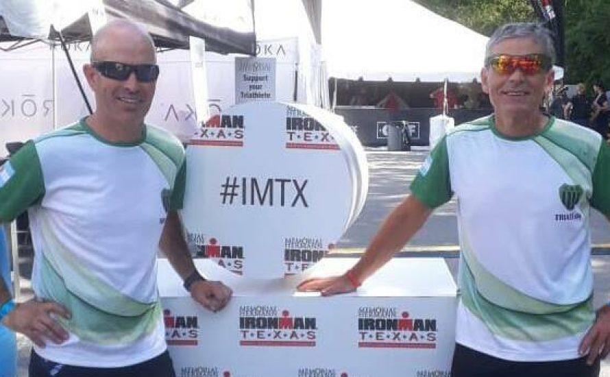 Dos triatletas del Club Independiente corrieron en el Ironman de Texas