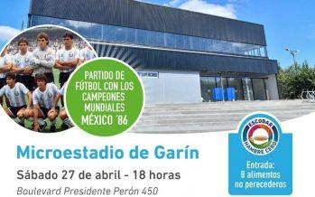 Campeones de México ´86 estarán en la inauguración del microestadio en Garín
