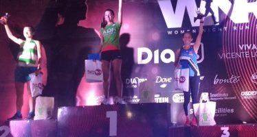 Tres mujeres de Escobar fueron Top 10 en la carrera Women Night Run