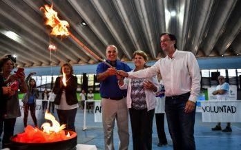 Comenzaron las Olimpiadas Municipales para adultos mayores