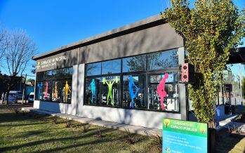 Se inauguró el primer gimnasio municipal de musculación en Maquinista Savio