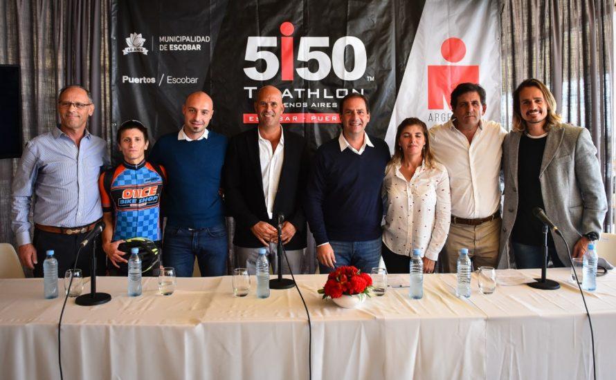 Por primera vez Escobar será sede de un Ironman 5150, el 29 de septiembre